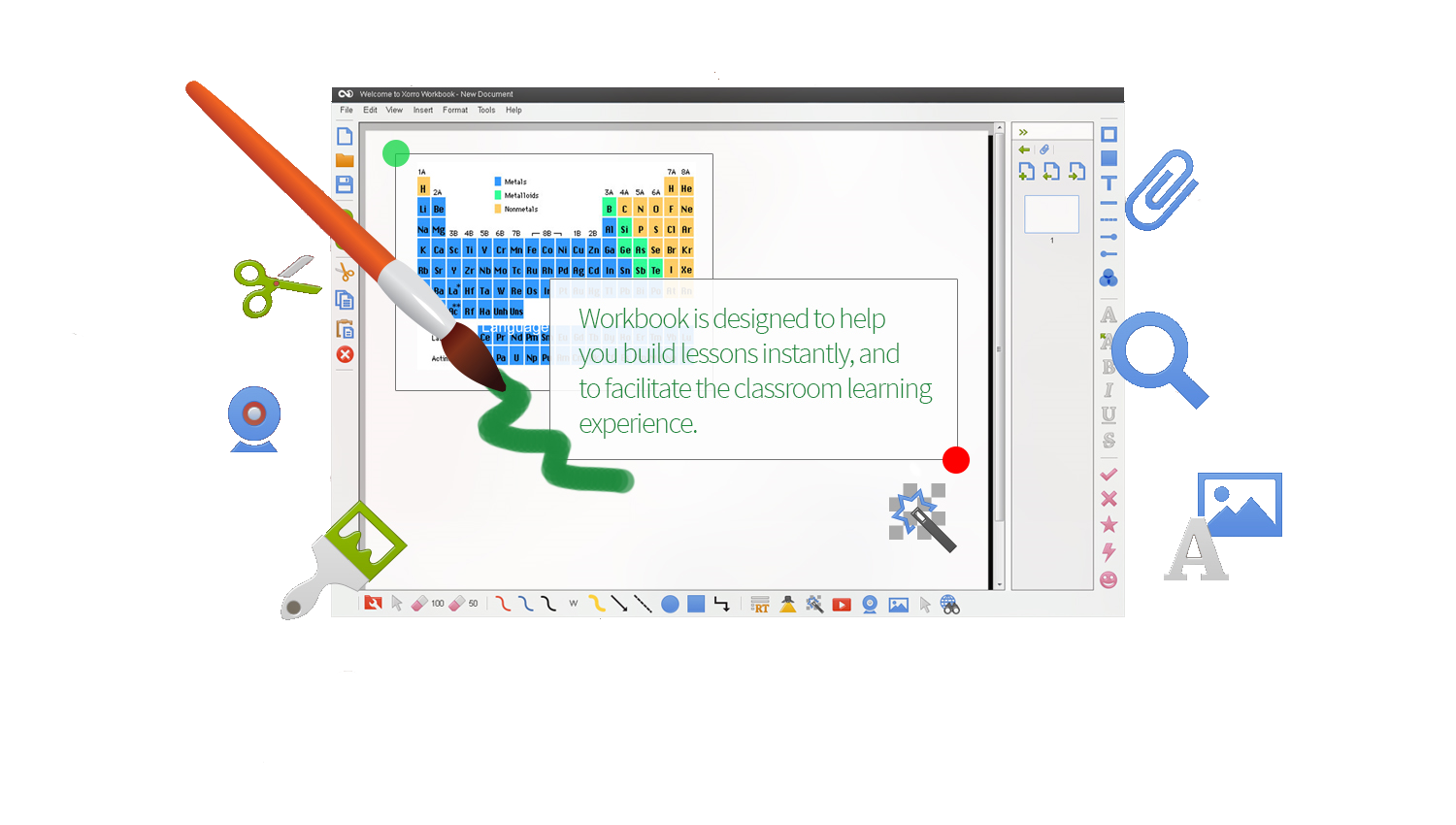 Workbook empowers your whiteboards
